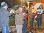 Weihnachtsbaumsetzen  in  Wickersdorf 2018